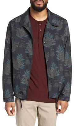Vince Tropical Regular Fit Coach's Jacket