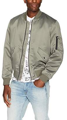 The Kooples Men's Men's Silk Bomber Jacket with Pockets