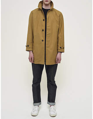 Community Clothing Mens Khaki Waterproof Cotton Raincoat