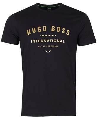 BOSS Athleisure Tee 1 Artwork Logo Short Sleeved T-shirt