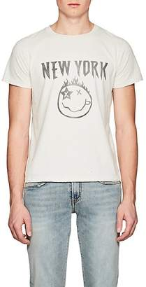 """Remi Relief Men's """"New York"""" Cotton Jersey T-Shirt"""