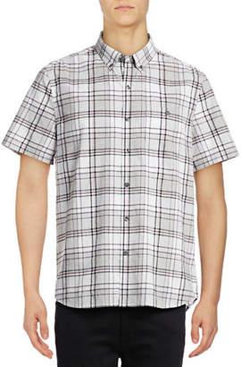 Michael Bastian Plaid Woven Sport Shirt