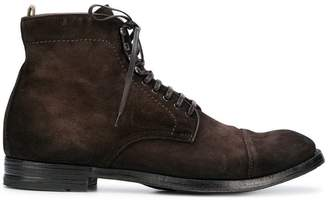 Officine Creative lace fastened boots