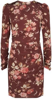 Zimmermann Unbridled Draped Mini Dress