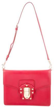Dolce & Gabbana Leather Lucia Satchel Red Leather Lucia Satchel