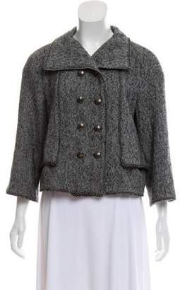 Oscar de la Renta Wool & Cashmere Jacket