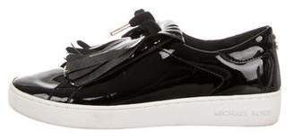 Michael Kors Patent Leather Low-Top Sneakers