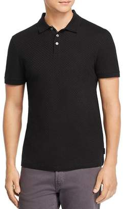 Ted Baker Tresm Textured Regular Fit Polo - 100% Exclusive