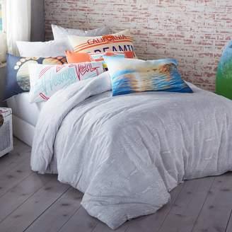 Hang Ten Woodgrain Duvet Cover Set