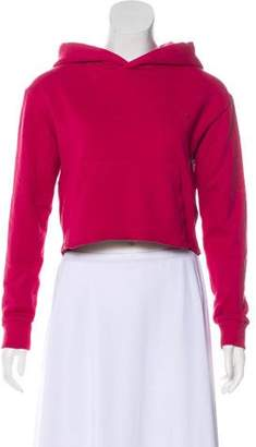 Ksubi Cropped Hooded Sweatshirt