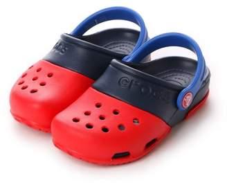 Crocs (クロックス) - LOCONDO クロックス crocs ジュニアサンダル エレクトロ 2.0 クロッグ Electro 2.0 Clog Red/Navy C10 15608-639-C10