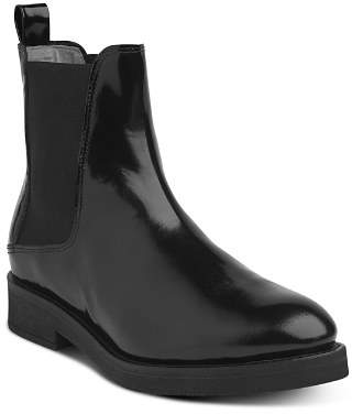Whistles Women's Arno Almond Toe Leather Chelsea Boots