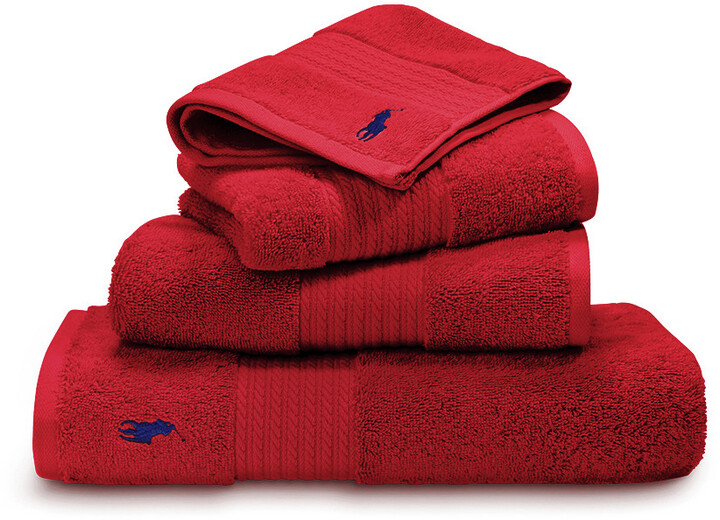 Player Towel - Red Rose - Hand Towel