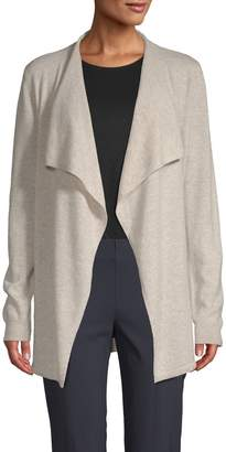 Saks Fifth Avenue Cashmere Waterfall Cashmere Cardigan
