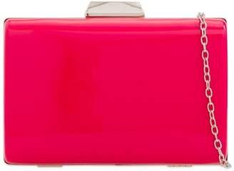 3fe4c37dd39 Pink Poodle Boutique Hard Box Clutch