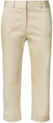 CK Calvin Klein chino cropped trousers