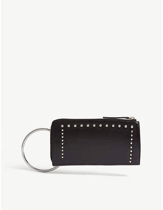 Mo&Co. Studded leather wallet