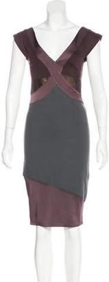 VPL Knee-Length Sheath Dress w/ Tags