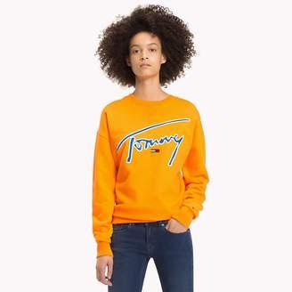 Tommy Hilfiger Signature Crew Neck Sweatshirt