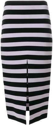 Proenza Schouler striped midi pencil skirt