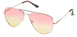 Pop Fashionwear Classic Metal Aviator Sunglasses P4149