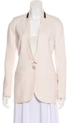 By Malene Birger Structured Silk Blazer