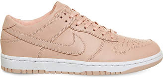 Nike Dunk low-top leather trainers