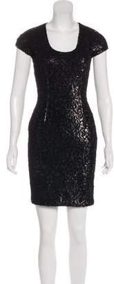 Just Cavalli Sequined Mini Dress