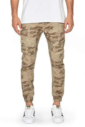 NXP Flight Camo Skinny Jogger Pants