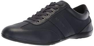 Emporio Armani Men's Logo Penny Loafer Sneaker