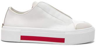 Alexander McQueen Canvas Platform Slide Sneakers