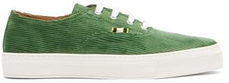 Aprix - Low Top Corduroy Trainers - Mens - Green