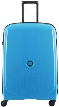 Delsey Belmont 76cm 4W Large Case Metallic Blue