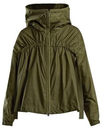 Moncler - Lune Hooded Shell Jacket - Womens - Khaki