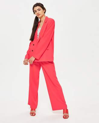 Topshop Slouch Suit Trousers