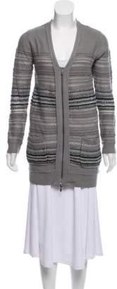 3.1 Phillip Lim Wool Zip-Up Cardigan w/ Tags
