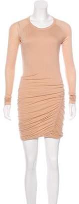 A.L.C. Lace-Accented Mini Dress