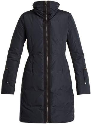 Moncler Alnus high-neck down-filled coat