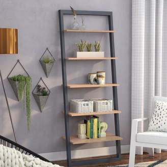 Mercury Row Theophanes 2 Tone Ladder Bookcase