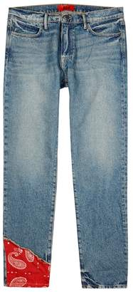 Fourtwofour FourTwoFour Dark Blue Straight-leg Jeans
