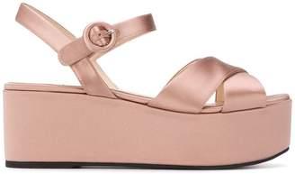 Prada chunky platform sandals