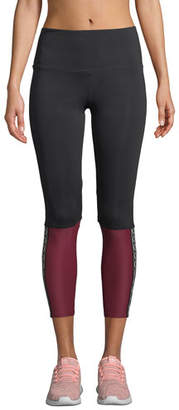 Onzie Olympian High-Rise Colorblock Performance Leggings