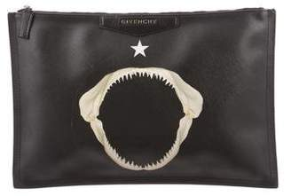 Givenchy Medium Antigona Shark Jaws Clutch