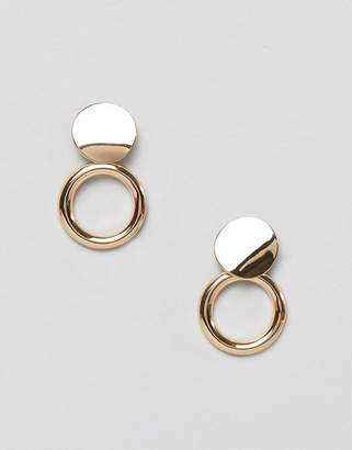 Pieces Stud Hoop Earrings