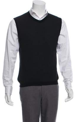 Louis Vuitton V-Neck Sweater Vest black V-Neck Sweater Vest