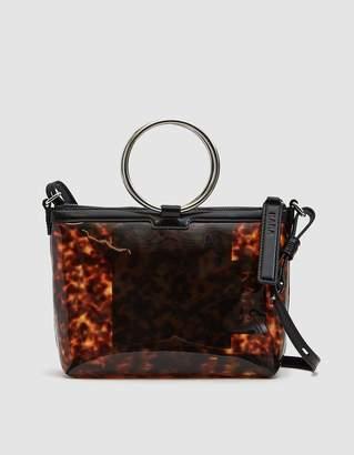Kara Ring Crossbody Bag in Tortoise