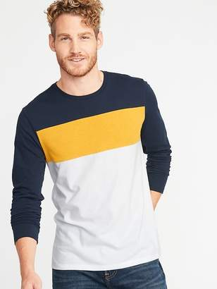 Old Navy Soft-Washed Pieced Color-Block Tee for Men
