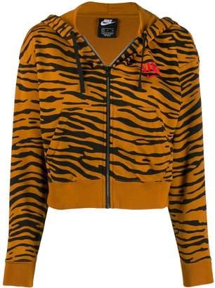 Nike tiger print hoodie