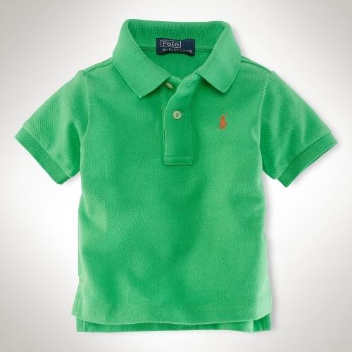 Short-Sleeved Mesh Polo