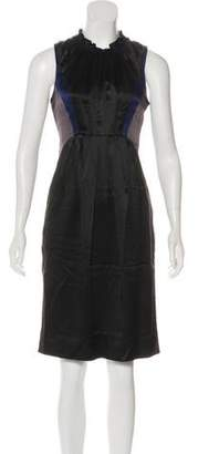 Richard Chai Silk Knee-Length Dress